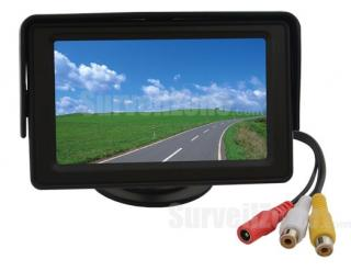 4.3 inch Digital Color LCD CCTV Monitor