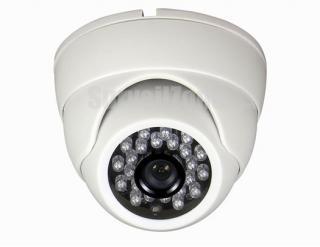 EFFIO-E 700TVL Sony CCD Indoor Dome Camera 23 LED 20m IR