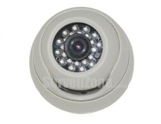600TVL Indoor IR Dome Camera with Sony Super HAD II CCD OSD