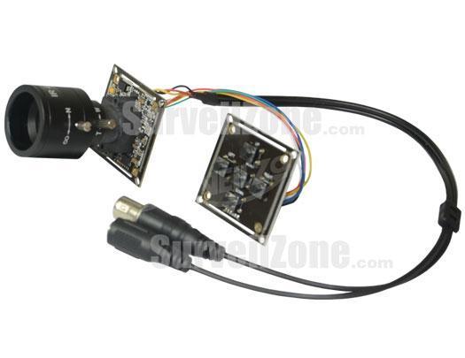 Sony Super HAD CCD 600TVL Board Camera 4~9mm Manual Zoom Lens