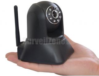 Wireless Pan Tilt Plug&Play IR Network IP Camera for Home Surveillance
