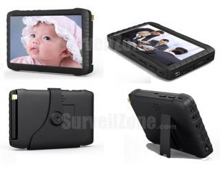 5 inch HD 2.4G Wireless Mini DVR Monitor No Blue Screen