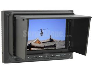 5 Inch High Brightness LED FPV Monitor 800*480 Snow Screen