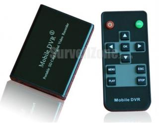 1CH High-res D1 Video Audio Mini Portable DVR
