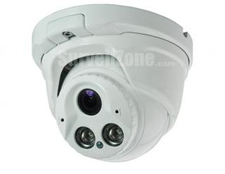 40m IR Effio-V Sony 960H CCD 800tvl Super WDR Waterproof Dome Camera 2.8~12mm Lens