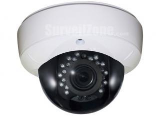 4.5 inch Effio-V Sony 960H CCD 800tvl Super WDR Metal Waterproof Dome Camera OSD