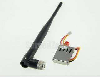 1.258Ghz 1.280Ghz 2CH AV 200mW Wireless Transmitter