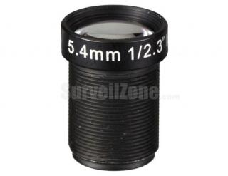 5.4mm 10 Megapixel Lens for GoPro Hero 3+ and 4 M12 1/2.3 Inch