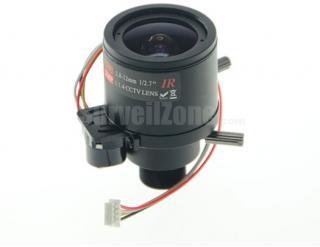 M12 2.8-12mm CCTV Professional Auto Iris Lens for Board Camera